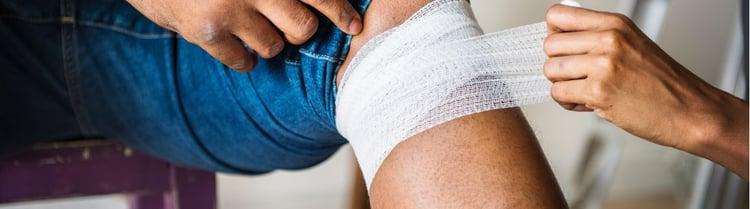 EHBO: lichte verwondingen