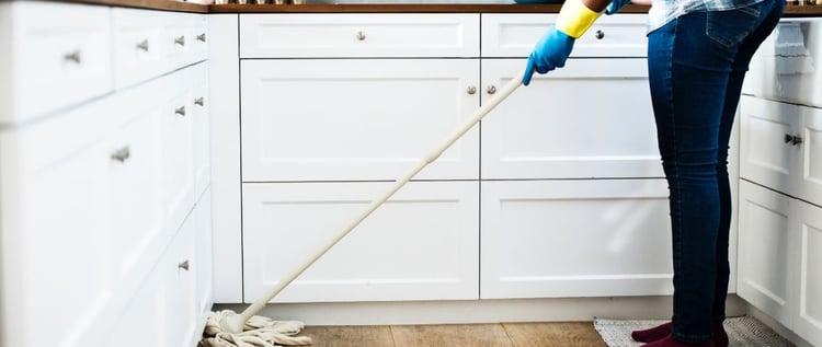 lichamelijke klachten te vermijden bij schoonmakers